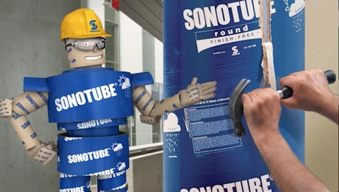 Sonotube® Finish Free® Commercial
